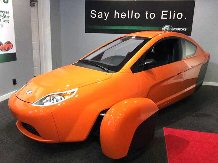 Elio Motors Two Seater P4 Vehicle Gets 84 Mpg And Only