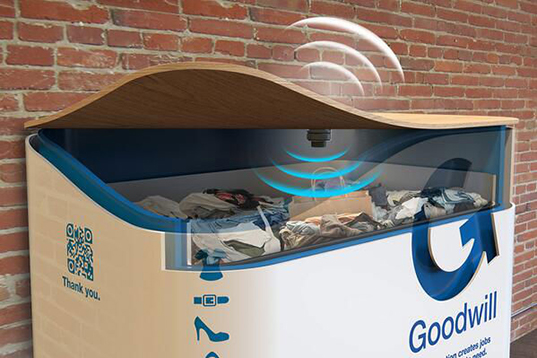 San Francisco S Fancy New Clothing Donation Bins To Help