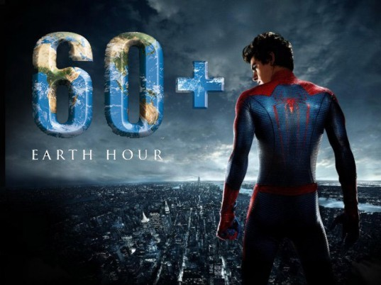 WWF, Sony Pictures Entertainment, Spider-man, The Amazing Spider-man 2, Earth Hour, Spider-man Earth Hour, WWF Earth Hour