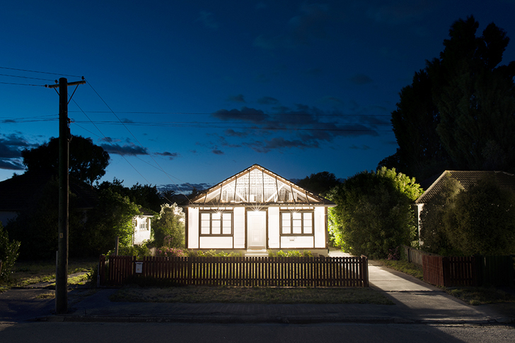 Artist Ian Strange Gives Homes Affected by the Christchurch Earthquake One Last Breath of Life