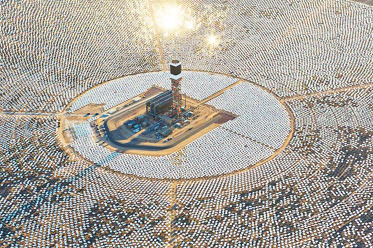 Ivanpah The World S Largest Solar Thermal Plant Just