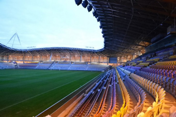 Captivating 1; 2; 3; 4; 5; 6; 7. OFIS Arhitekti FC BATE Borisov Stadium Awesome Design