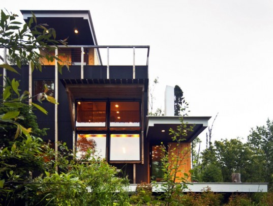 Rierson residence, salmela architect, green renovation, eco design, sustainable renovation, lake superior, eco renovation, energy efficiency