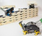 "Autonomous ""Termite"" Robots Work Together to Build with Bricks"