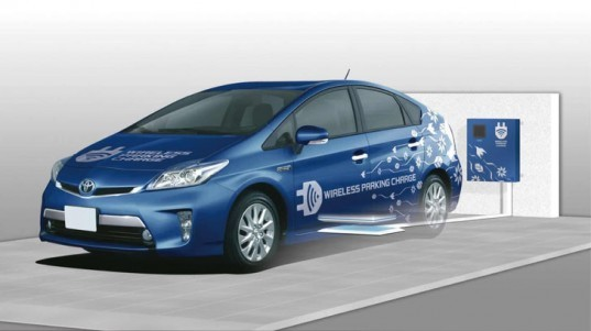 toyota, toyota electric vehicle, toyota hybrid, electric vehicle, plug-in hybrid, wireless charging system, battery, lithium-ion battery, green transportation, green car, toyota prius