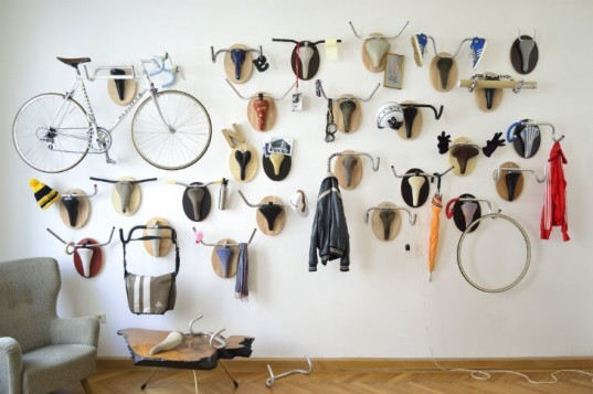 Upcycle Fetish, Bike Trophies, hunting trophies, andreas scheiger, bicycling, cycling, upcycling,