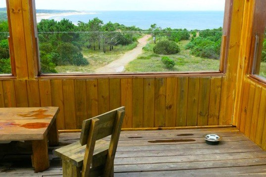 Via Verde, off-grid, eco B&B, Uruguay, Punta del Diablo, powered by the sun, solar power, FSC wood, local wood, wooden cabin, hotel by the beach, grey water treatment, green accomodation, Rosario Gabino and Martin Aldalur, Architecture, Daylighting, Water Issues, Solar Power, Renewable Energy, Green Materials, energy efficiency, Eco Travel, Eco Tourism,