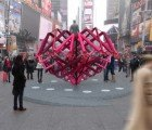 Times Square to Host Playful Matchmaking Sculpture for Valentine's Day