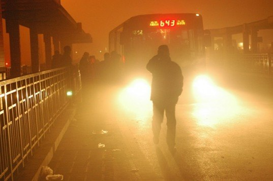 Beijing, China, air pollution, law, regulation, polluters, fines, penalties, emissions, smog, air quality, PM2.5