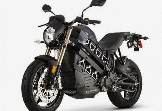 Brammo S High Performance Electric Motorcycle Gets An