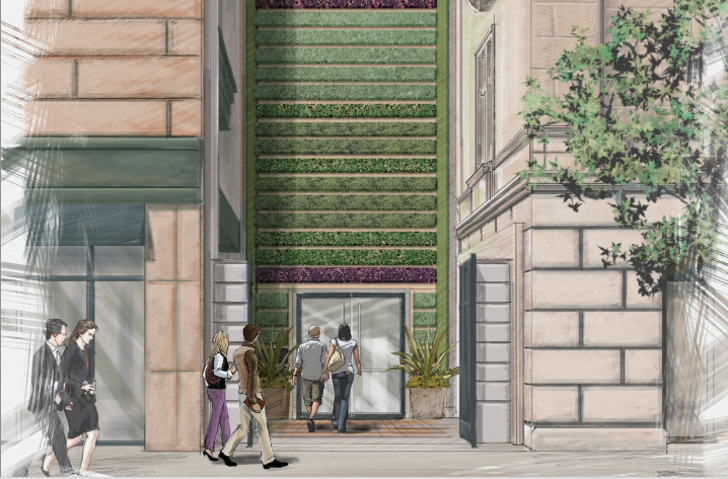 Tallest Green Wall in Los Angeles to Adorn Oldest LEED Platinum Building in Southern California