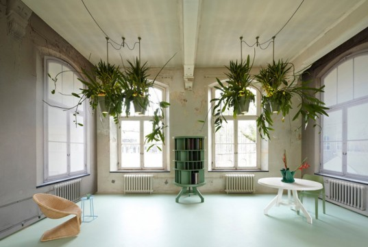 Roderick Vos Creates Hanging Potted Plants That Provide