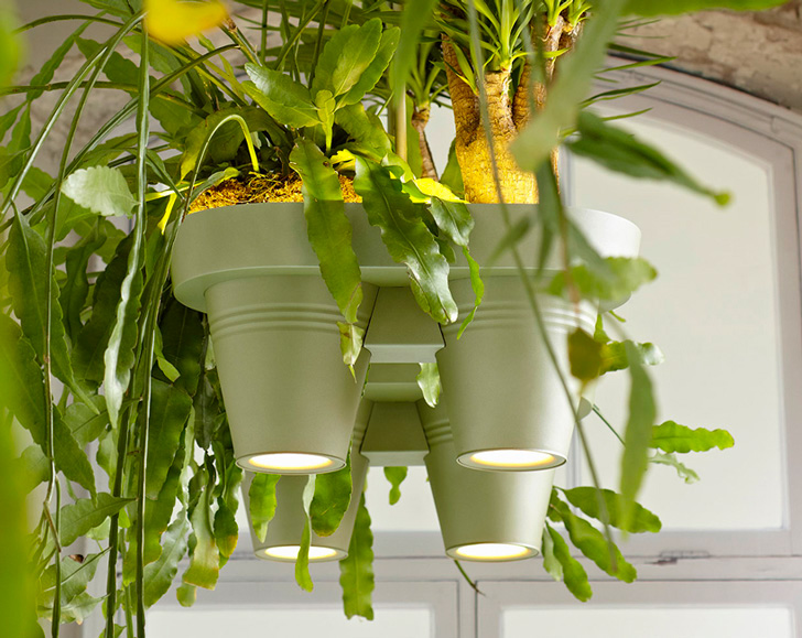 Roderick Vos Creates Hanging Potted Plants that Provide Oxygen