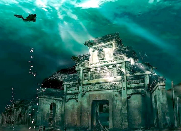 Ancient Underwater City Flooded by the Chinese Government Becomes Major Tourist Attraction