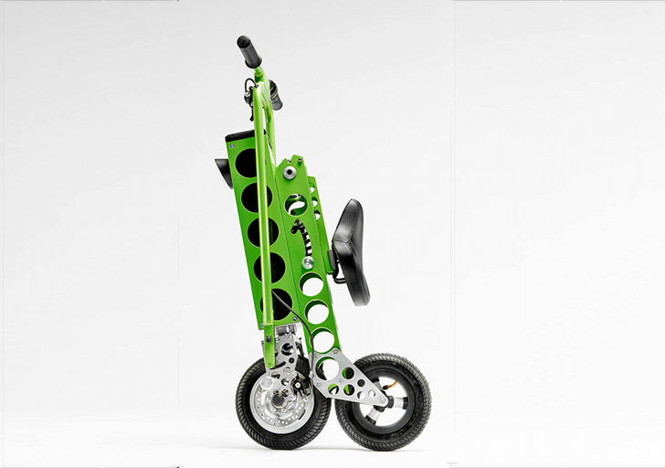 Urb E Small Lightweight Electric Scooter Is Perfect For The Last Mile Of Your Commute