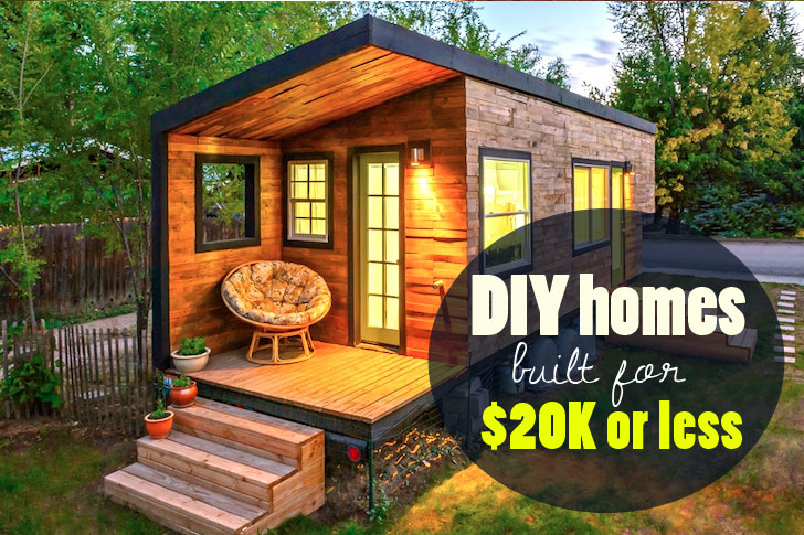 6 eco friendly diy homes built for 20k or less for Design your own metal building home