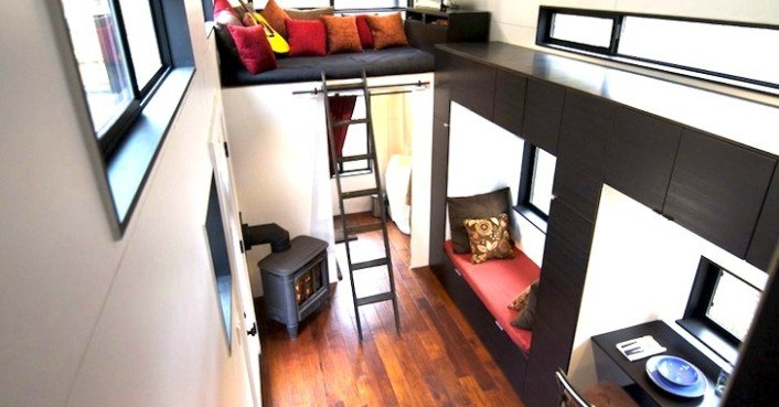 Tiny Home Designs: Tiny $33K Home Offers Off-Grid Luxury Living On Wheels