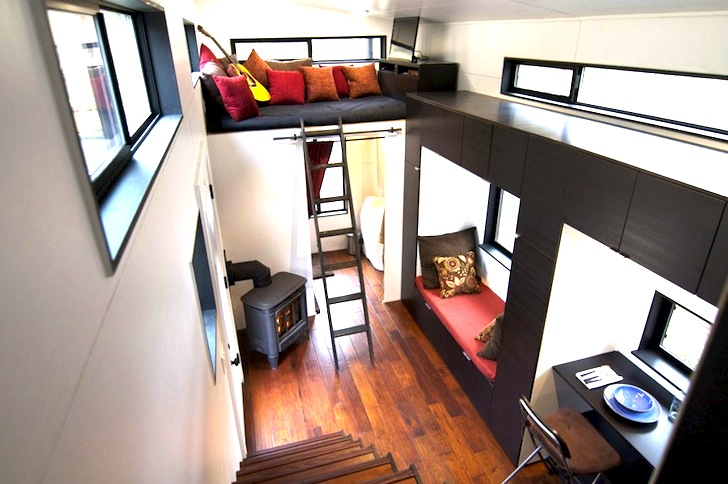 Tiny $33K Home Offers Off-Grid Luxury Living on Wheels | Inhabitat Tiny Homes Wheels Designs on off-road wheels, shipping container homes wheels, painting wheels, little homes wheels, building wheels,