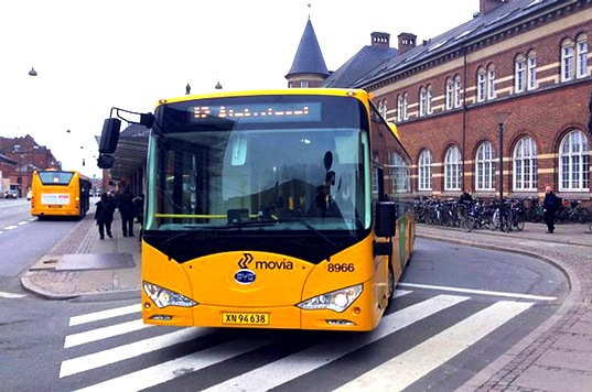 BYD's All-Electric Bus Sets a New Record with 200 Mile Journey Around Copenhagen