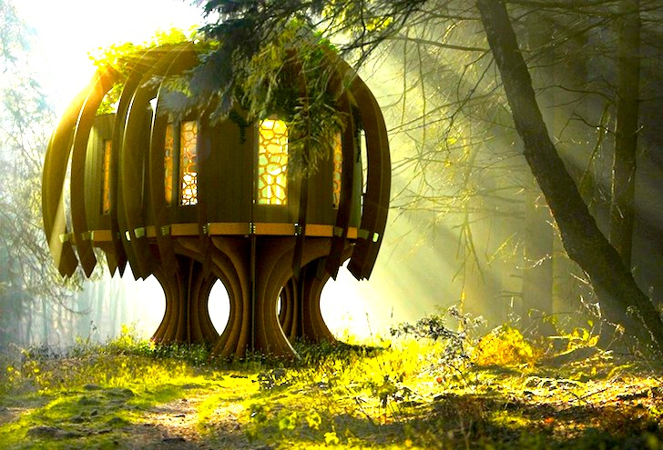 Biggest Treehouse In The World 2017 tree house | inhabitat - green design, innovation, architecture