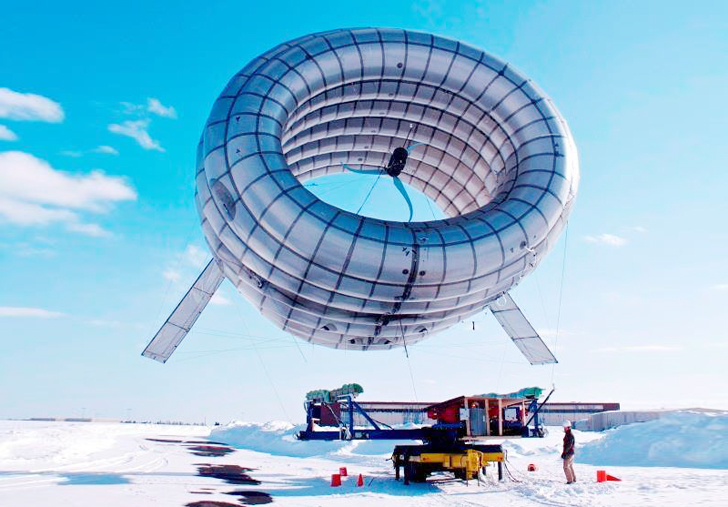 Worlds First Airborne Wind Turbine To Bring Renewable Energy And