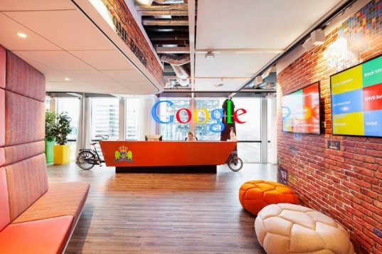 green design, eco design, sustainable design, Google Amsterdam, Google Headquarters, D/DOCK, flexible work space, innovative work space, Dutch Design