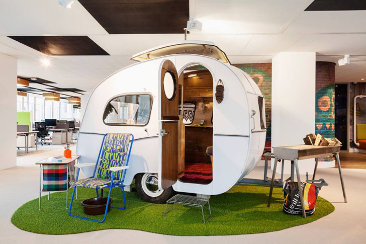 Google's Sweet Amsterdam Office is Topped With Stroopwafel ... on cabin house designs, united states house designs, rv house signs, elf house designs, cottage house designs, rv interior design,