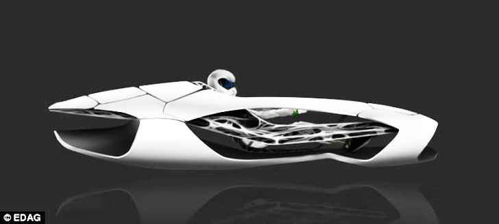 3d printed genesis concept car inspired by the turtle offers super safe auto travel inhabitat. Black Bedroom Furniture Sets. Home Design Ideas