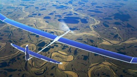 Facebook, remote internet, internet in remote areas, internet in Africa, Solara 50, Solara 60, solar-powered drones, drones for internet, internet access, Titan Aerospace,
