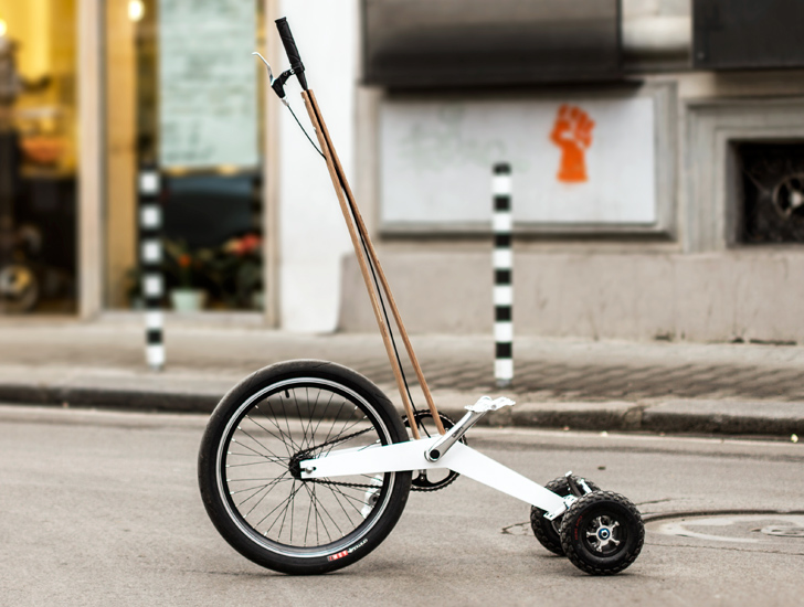 Kolelinia Lab's Halfbike Proves Less Can Be More When it Comes to Urban Mobility