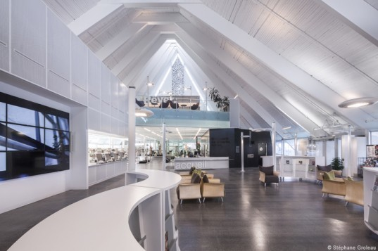 green design, eco design, sustainable design, Cote Leahy Cardas Architects, Monique-Corriveau Library, Dan Hanganu Architects, Adaptive reuse, church transformed into library