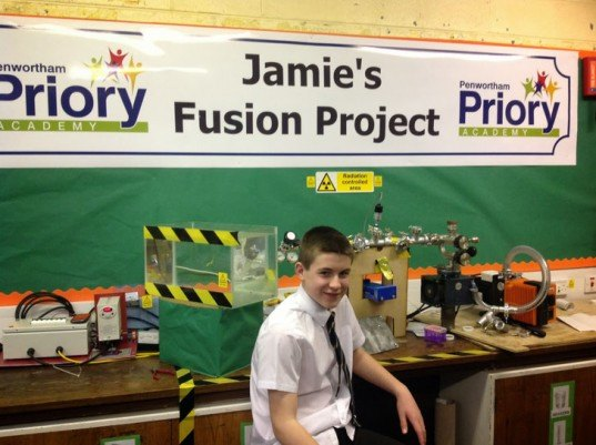 13-Year-Old Becomes the World's Youngest Person to Achieve Nuclear Fusion