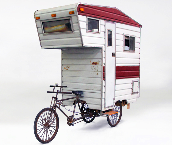 Camper Bike A Pedal Powered Rv For One Inhabitat