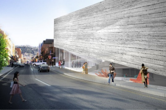 Kimball Art Center Update, BIG, park city, utah, green renovation, historic renovation, art center, bjarke ingels