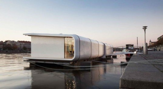 green design, eco design, sustainable design, modular living, floating home, Atelier SAD, POrt X floating home, Tomas Kalhaus, Jerry Koza, Adam Jirkal