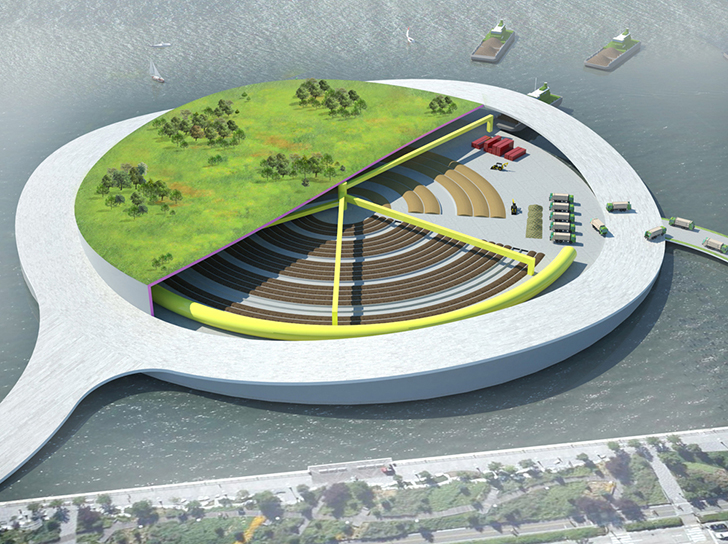 Could Present Architecture's Green Loop Composting Park Concept Be the Future of NYC Sanitation?