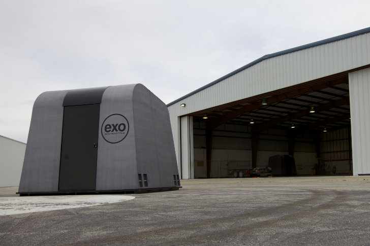Emergency Shelter Systems : Help reaction housing send stackable exo emergency