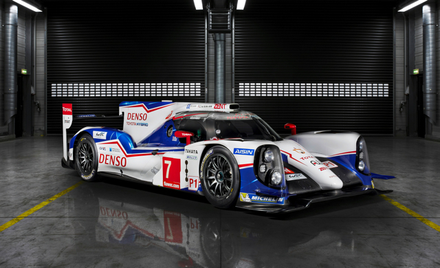 Toyota Unveils Hybrid Race Car For The Fia World