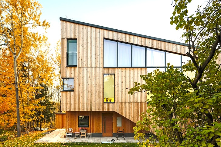Innovative House M-M Brings Three Generations of Finns Under One Roof