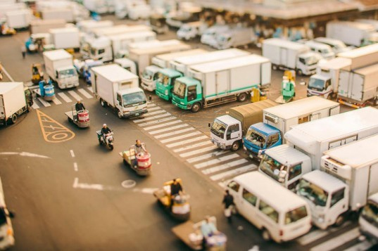 Ben Thomas Photography, Tokyo tilt-shift photography, Tiny Tokyo: The Big City Made Mini, architectural photography, scaled-down cities, aerial city photography