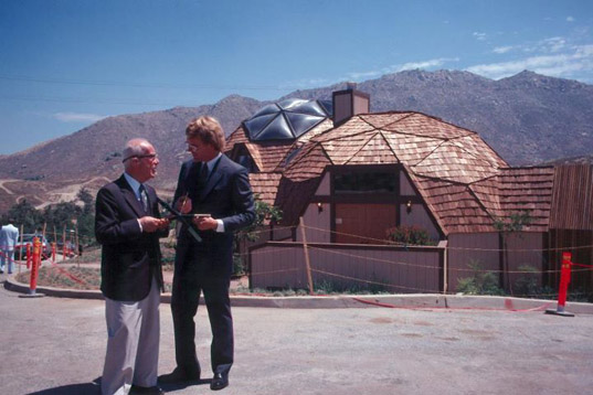 Buckminster Fuller's Dome House to be Repaired & Transformed into Museum