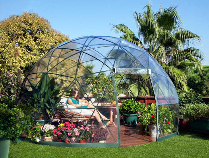 The Garden Igloo Is A Pop Up Geodesic Dome Perfect For Any