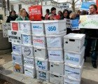 Activists Deliver 2 Million Public Comments Opposing Keystone XL Pipeline to Secretary John Kerry