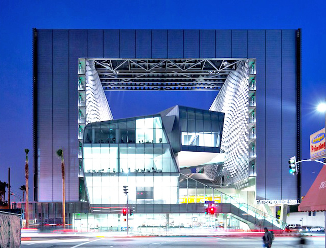 Emerson College Los Angeles >> Morphosis Spectacular Emerson College Campus Set To Open In Hollywood