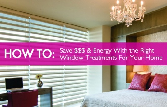 How To Save Money & Energy With The Right Window Treatments For Your Home, green window treatments, eco-friendly window treatments, decorview, hunter douglas, cellular shades, modern blinds, modern shutters, modern window treatments