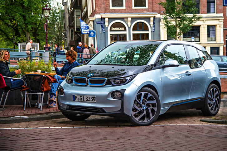 BMW I3 Electric Vehicle Wins World Green Car And Design Of The