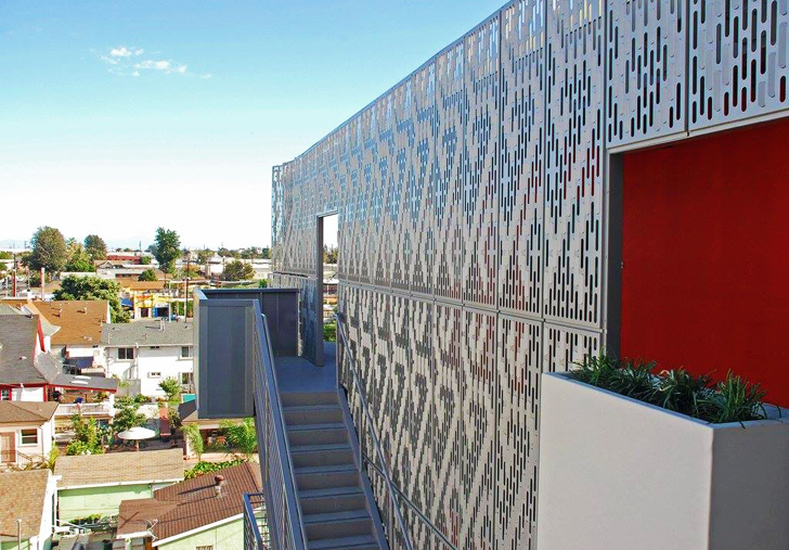 Affordable Solar Powered 28th Street Apartments Revive