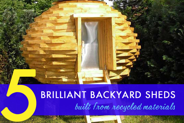 5 brilliant sheds made from recycled materials inhabitat green design innovation architecture green building - Garden Sheds From Recycled Materials