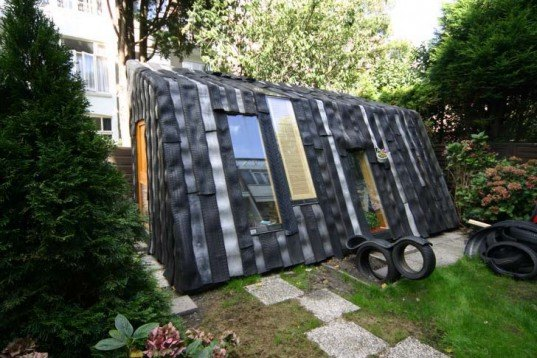 Garden Sheds From Recycled Materials 5 brilliant sheds made from recycled materials | inhabitat - green