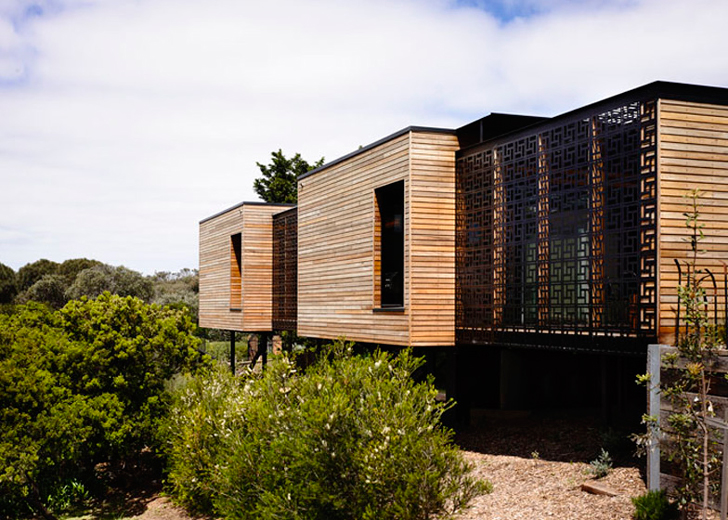 Wolveridge Architects Use Almost All Recycled Timber to Build Beautiful Blairgowrie House in Australia